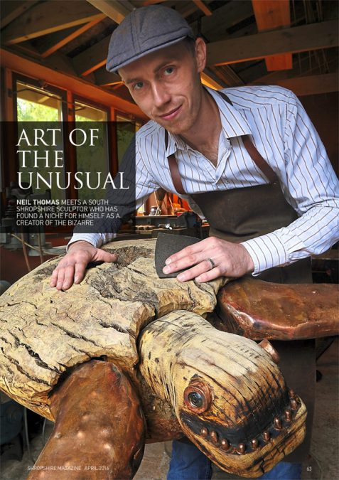 Shropshire Magazine feature article